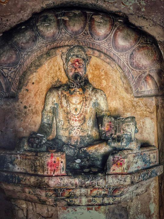 Idol of Lord Shiva.