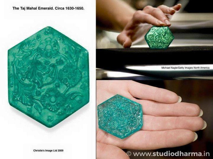 The Taj Mahal Emerald.