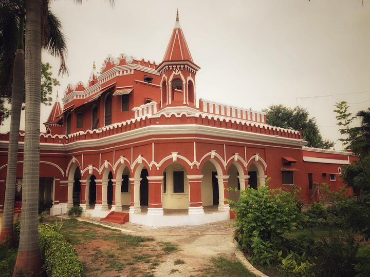 Durga Bhawan,one of the oldest buildings of Meerut.
