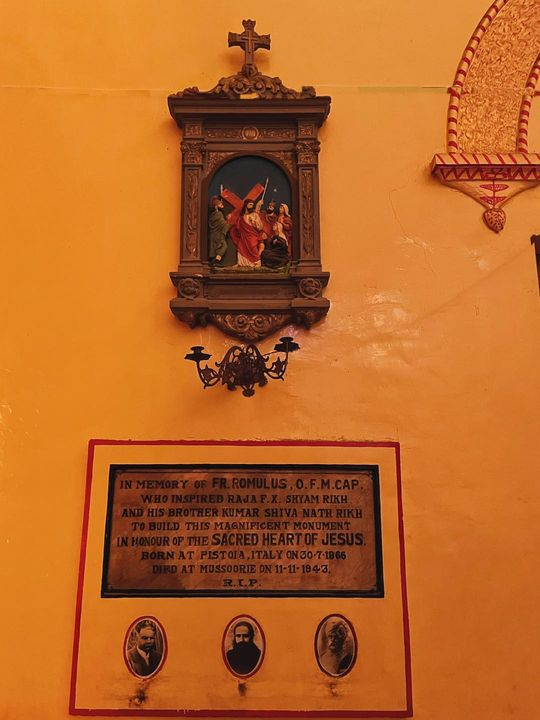 SACRED HEART CHURCH, RAJA KA TAJPUR, BIJNORE.